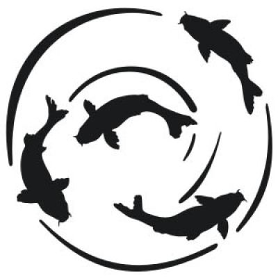 400x400 Image Result For Koi Fish Silhouette Vinyl Sticker Ideas
