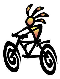 236x314 Cycling On Bicycle Tattoo, Bike Tattoos And Bicycles