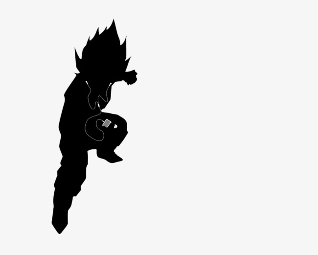 650x521 Kung Fu Shadow, With Headphones, Pointed, Martial Arts Png Image