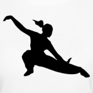 300x300 Kung Fu Girl Silhouette I Want This On My Wall Someday