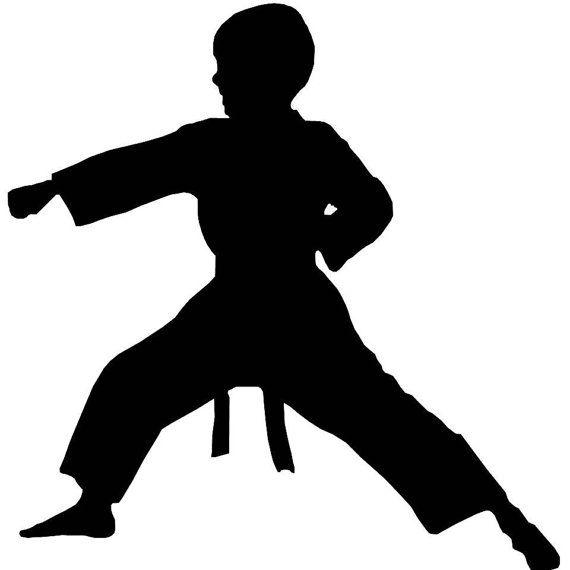 570x570 Karate Boy And Karate Girl Window Decals Cricut, Cricut Ideas