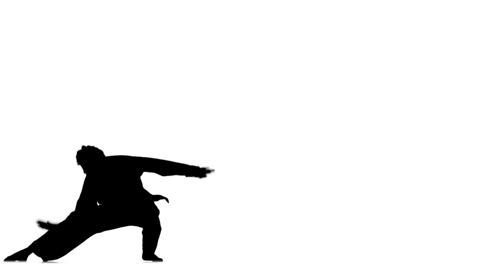 1920x1080 Kung Fu, Karate, Martial Arts, Silhouette, Slow Motion Motion