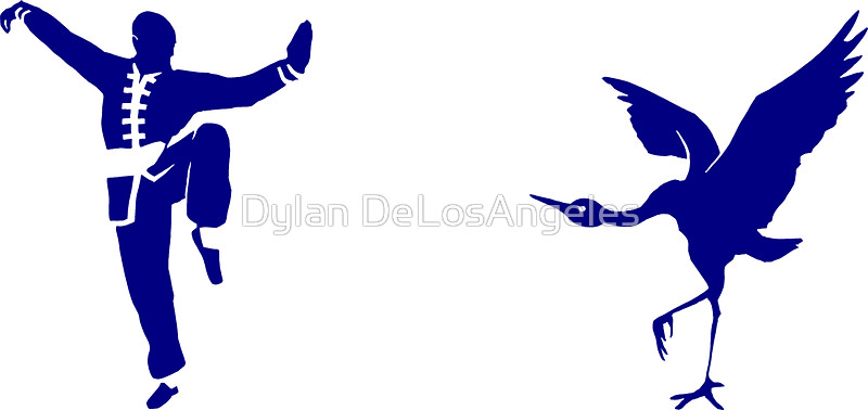 800x378 Crane Style Kung Fu Stickers By Dylan Delosangeles Redbubble