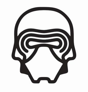287x300 Kylo Ren Star Wars Vinyl Die Cut Car Decal Sticker