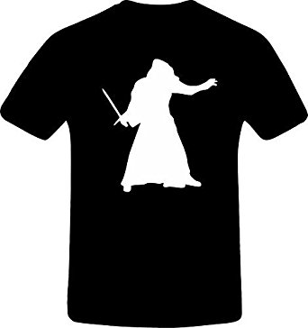 342x364 Star Wars Kylo Ren Silhouette, Custom Tshirt Amazon.co.uk Clothing