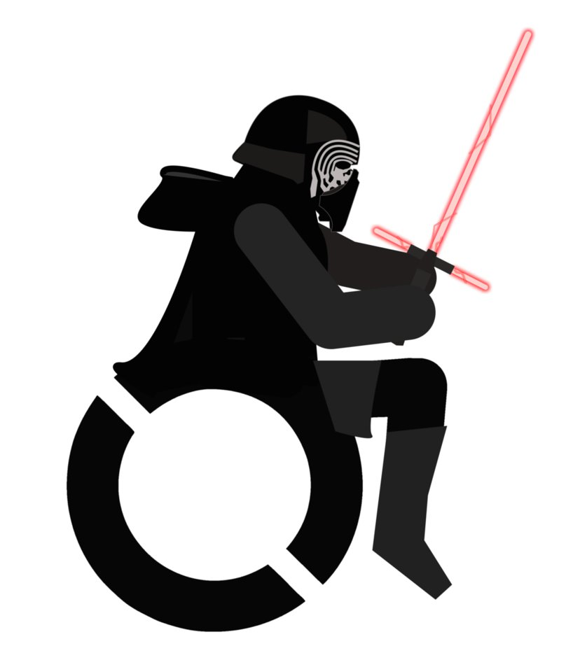 838x953 Disabled Kylo Ren By Rollingmike91