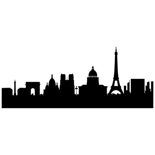 500x500 Skyline Paris. Finest Skyline Clipart Paris With Skyline Paris