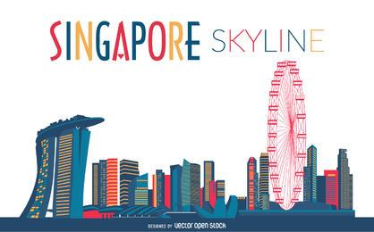 418x260 Skyline Vector Graphics City Skylines) Free Download