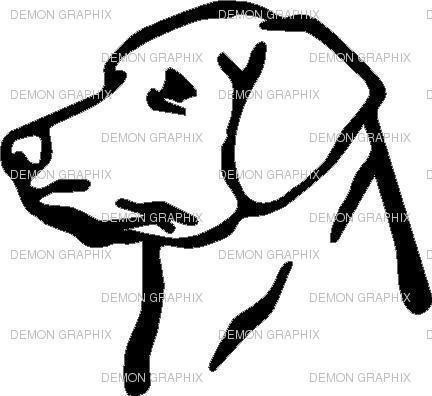 432x396 Labrador Decal Ebay