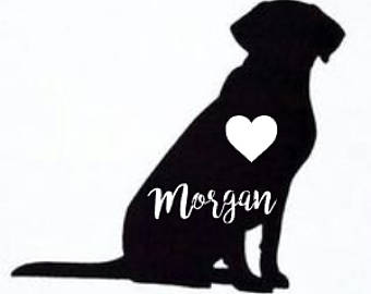 340x270 Labrador Decal Etsy