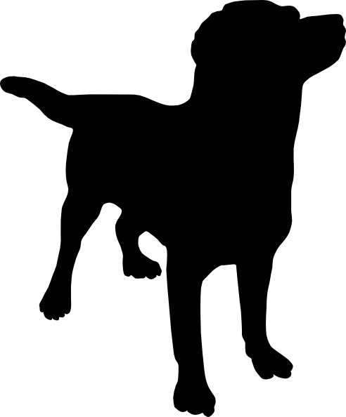 492x594 Dog Silhouette Svg Downloads