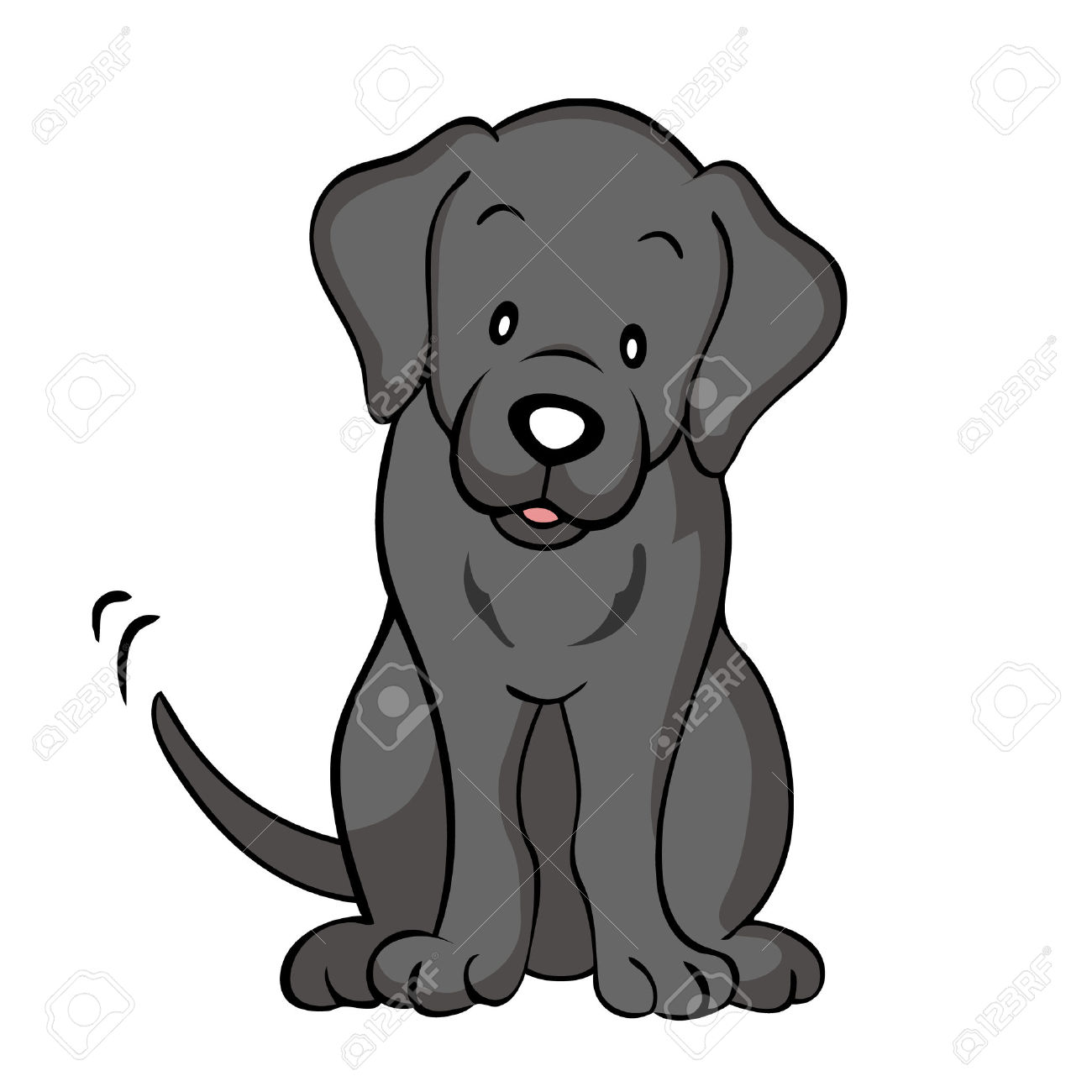 1300x1300 Lab Dog Clipart Retriever Pencil And In Color