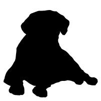 201x201 Labrador Puppy Clipart
