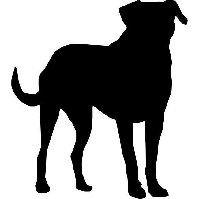 650x650 Labrador Stencil Labradors, Stenciling And Crafty