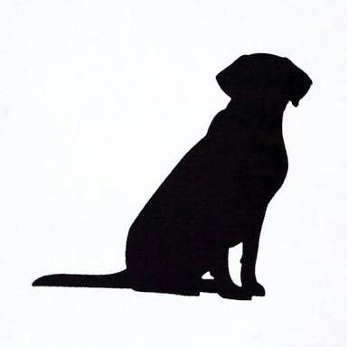 384x384 Labrador Silhouette