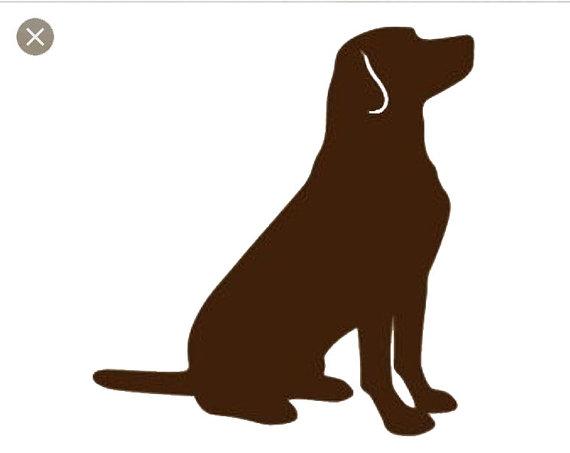 570x453 Puppy Dog Lab Svg Cut File Dog Silhouette Svg Dog Svg