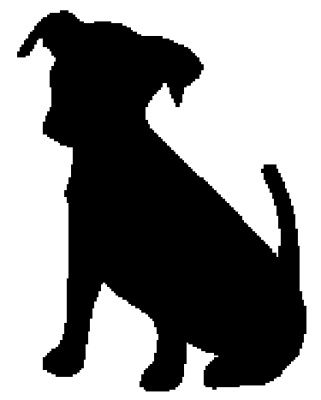 321x400 Clipart Of Dog In A Car Silhouette Collection