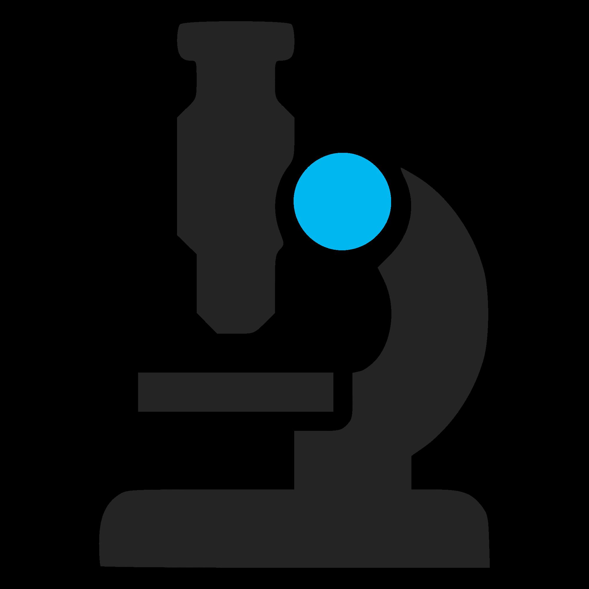 2000x2000 Dominio Icono Microscopio Multimedia Para El Rea