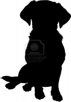 236x340 Labrador Silhouette Clip Art Labrador Dog Decal Sticker Dog