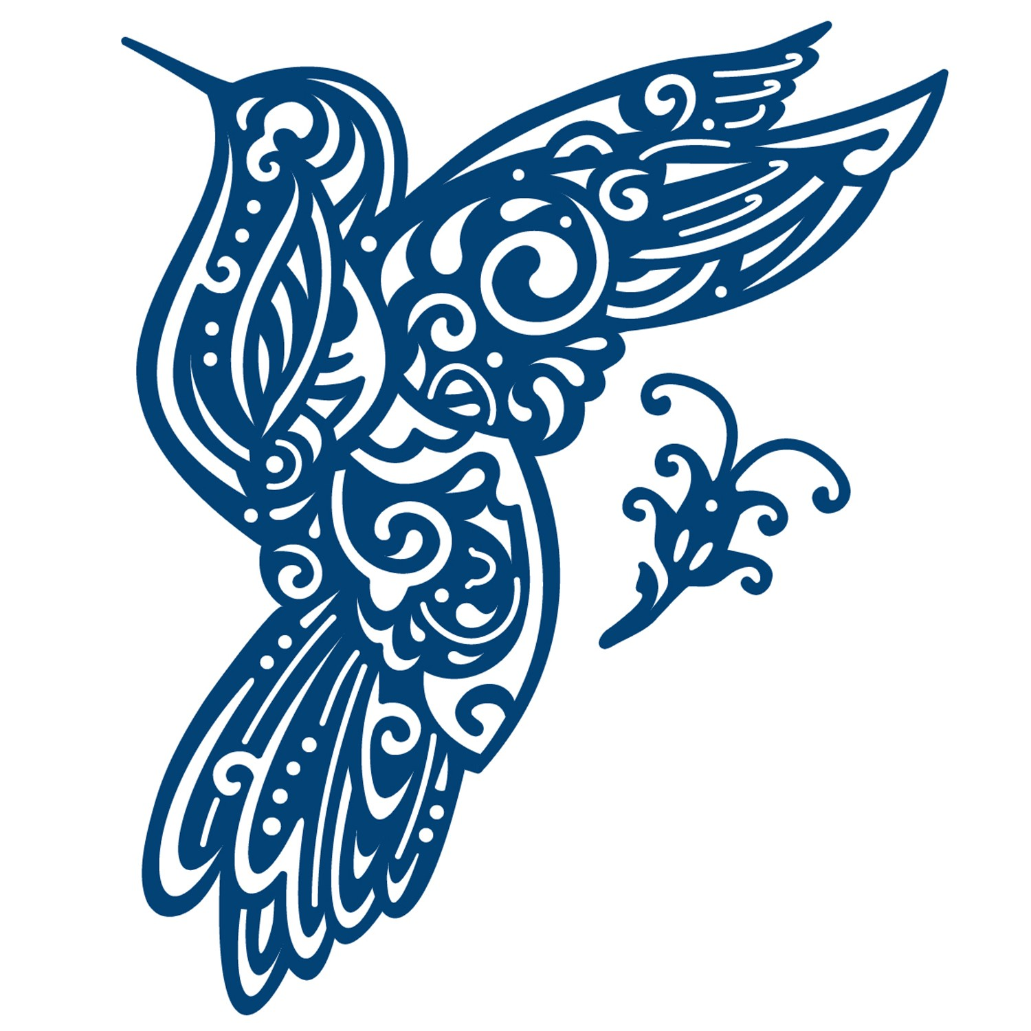 1500x1500 Tattered Lace Hummingbird Toppers Die Set Cards