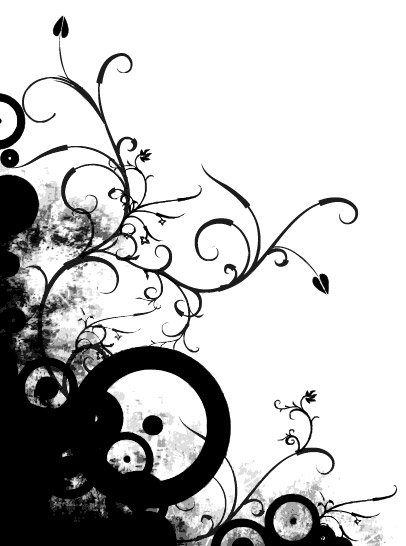 406x546 The Trend Pattern Lace Silhouette Element, Clip Arts