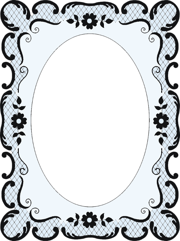 575x768 Lace Scroll Frame 439 439k
