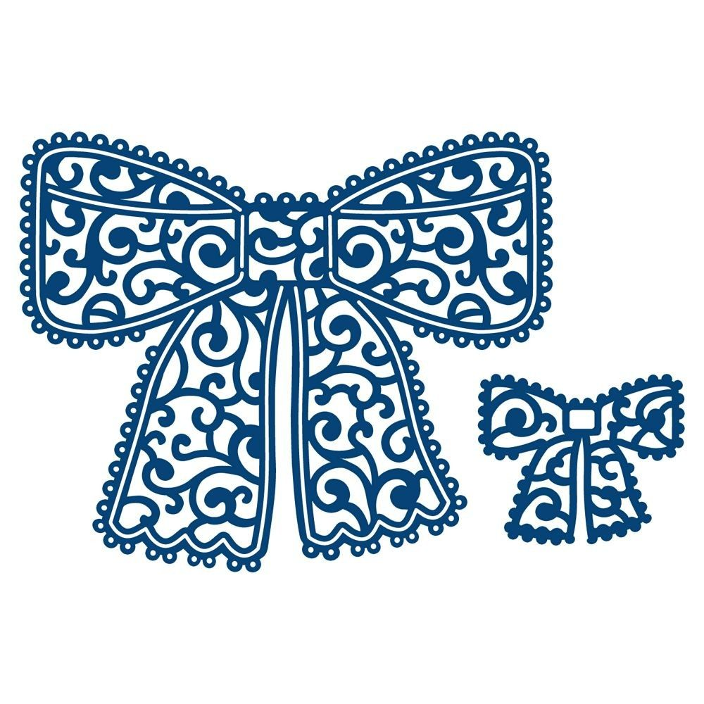 1000x1000 Lace Bow Clipart