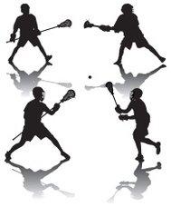 189x228 Teen Lacrosse Players Premium Clipart