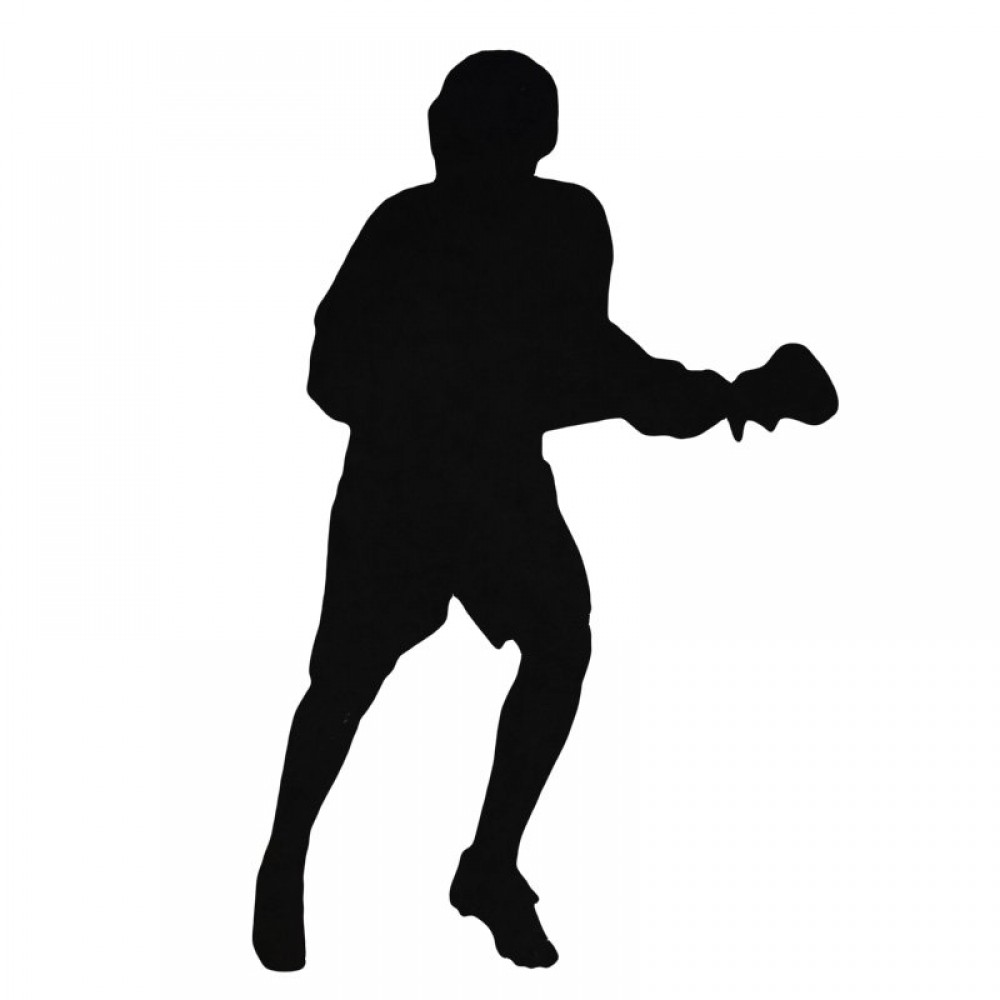 1000x1000 Lacrosse Player Decal