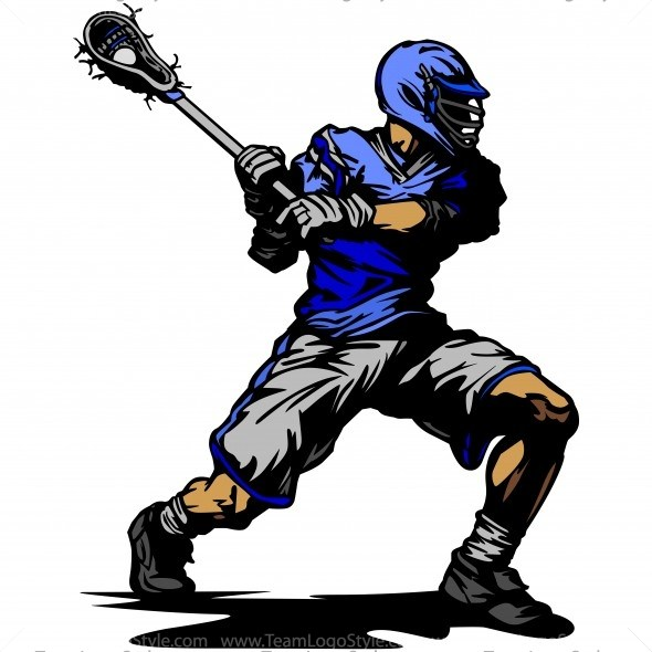 590x590 Lacrosse Player Silhouette