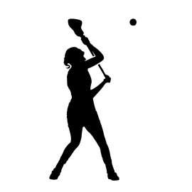 270x270 Lacrosse Player Silhouette 01 Stencil Free Stencil Gallery