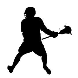 270x270 Lacrosse Player Silhouette 02 Stencil Free Stencil Gallery