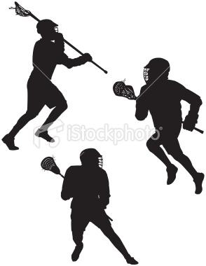 294x380 Lacrosse Silhouette Clipart