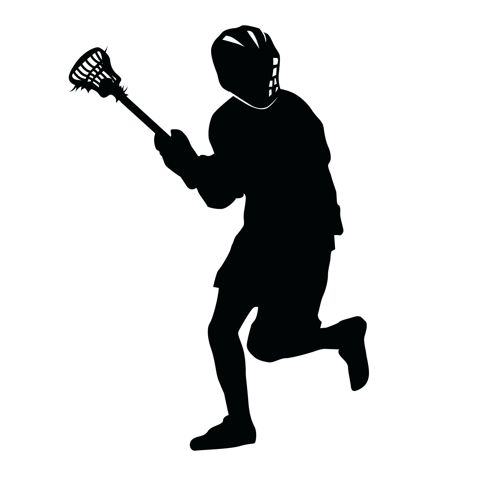 1656x1656 Wall Arts ~ Guy Lacrosse Silhouette Sports Wall Decalswall Art