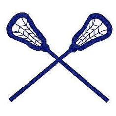 236x236 Filecrossed Lacrosse Sticks.svg Vinyl Lacrosse