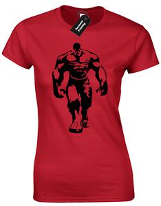 234x300 Hulk Silhouette Ladies T Shirt Avengers Ironman Stark Thor Marvel