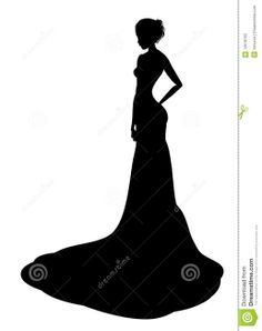 236x298 Victorian Woman Silhouette Clipart