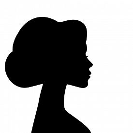 275x275 Silhouette Head Shoulder Photos And Images