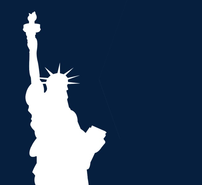 650x596 Statue Of Liberty Silhouette, Modern, Statue Of Liberty, Sketch