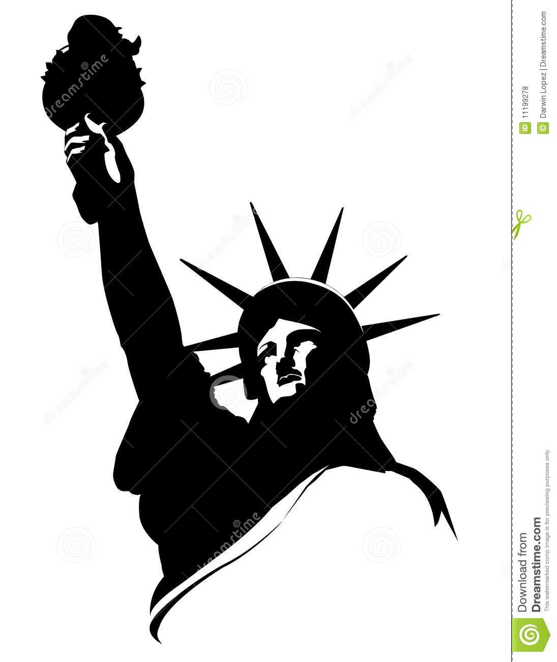 1095x1300 Statue Of Liberty Clipart Stencil
