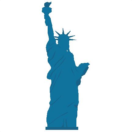 432x432 Statue Of Liberty Svg Scrapbook Cut File Cute Clipart Files