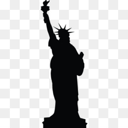 260x260 Free Download Statue Of Liberty Silhouette