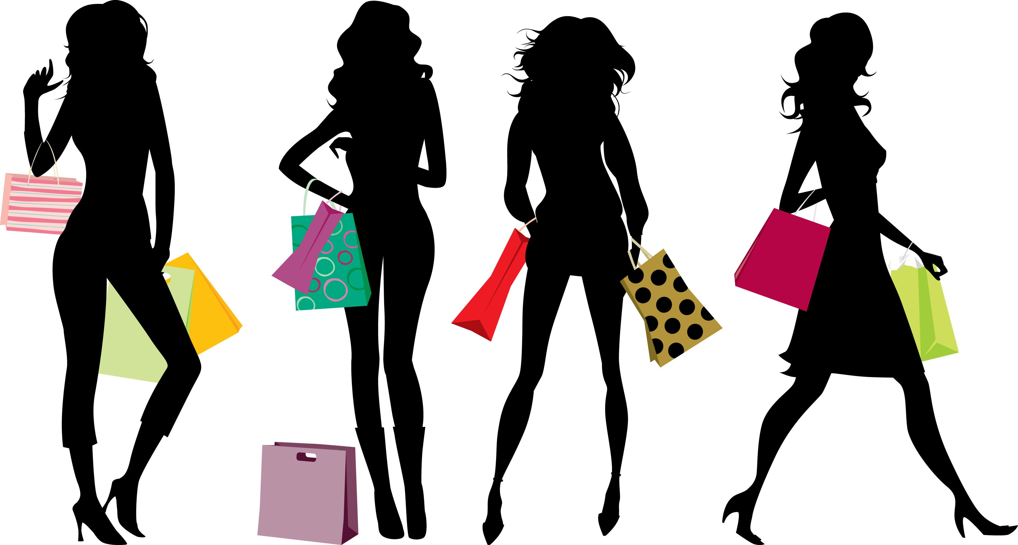 lady shopping silhouette at getdrawings com free for personal use rh getdrawings com woman grocery shopping clipart african american woman shopping clipart