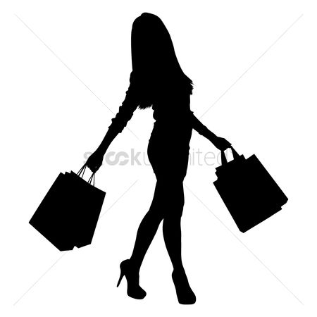 450x450 Free Silhouette Woman Stock Vectors Stockunlimited
