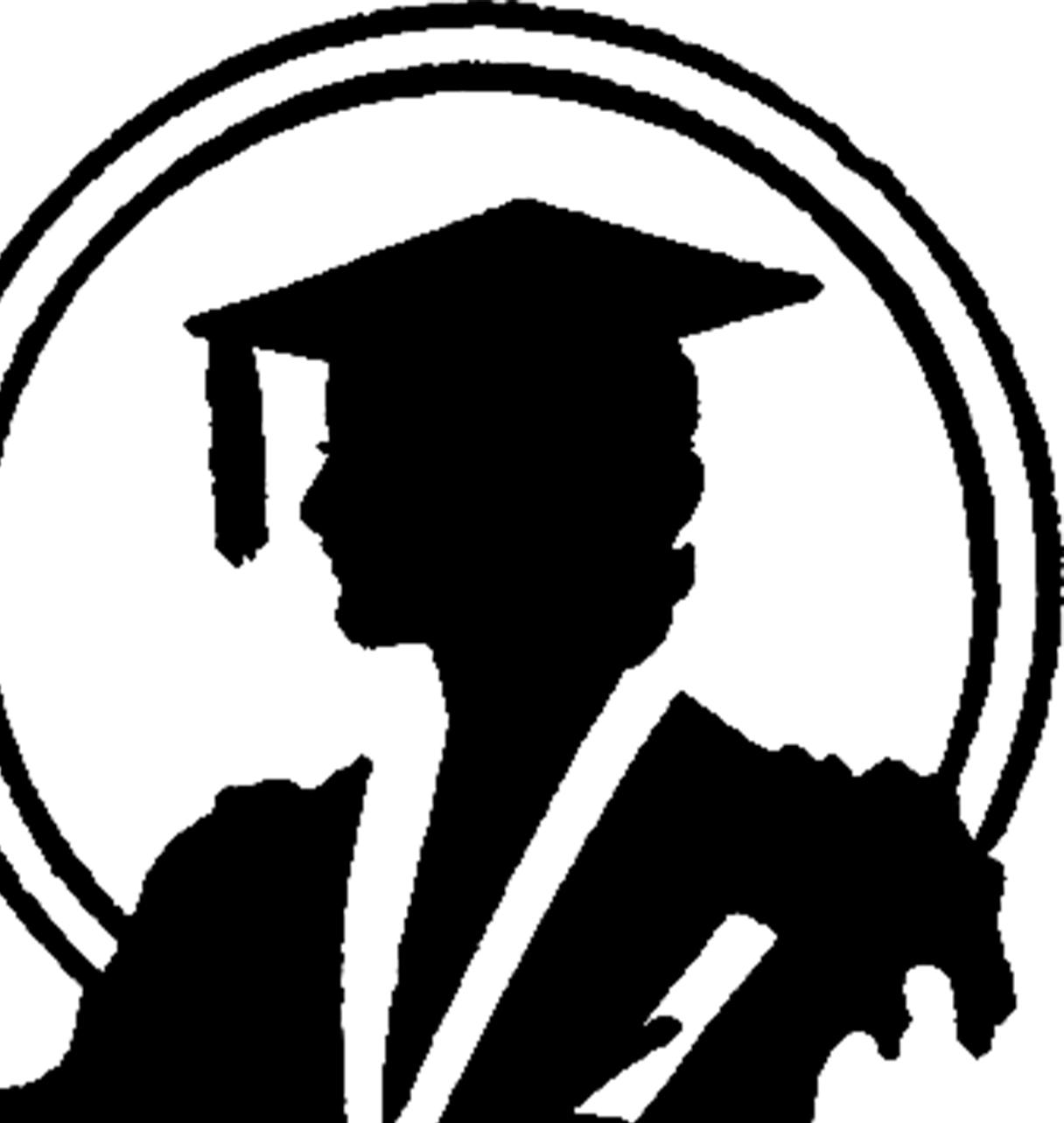 1216x1284 Graduation Silhouette Image