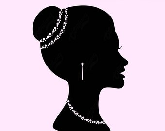 340x270 Silhouette Lady Etsy