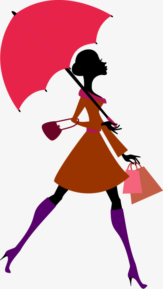 650x1150 My Fair Lady Silhouette Umbrella Vector, Lady, Fit, Sketch Png