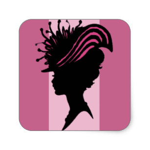 307x307 Victorian Lady Stickers Amp Labels Zazzle Uk