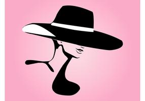 286x200 Woman Hat Free Vector Art