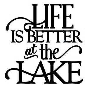 299x300 Life Is Better At The Lake Fishing Camping Vinyl Decal St Https